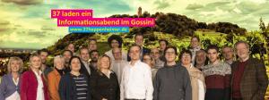Informationsabend der 37 Kandidaten der FDP Heppenheim zur Kommunalwahl 2016