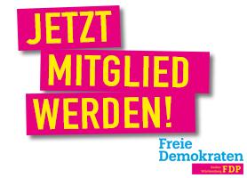 Werden Sie Mitglied bei der FDP Heppenheim